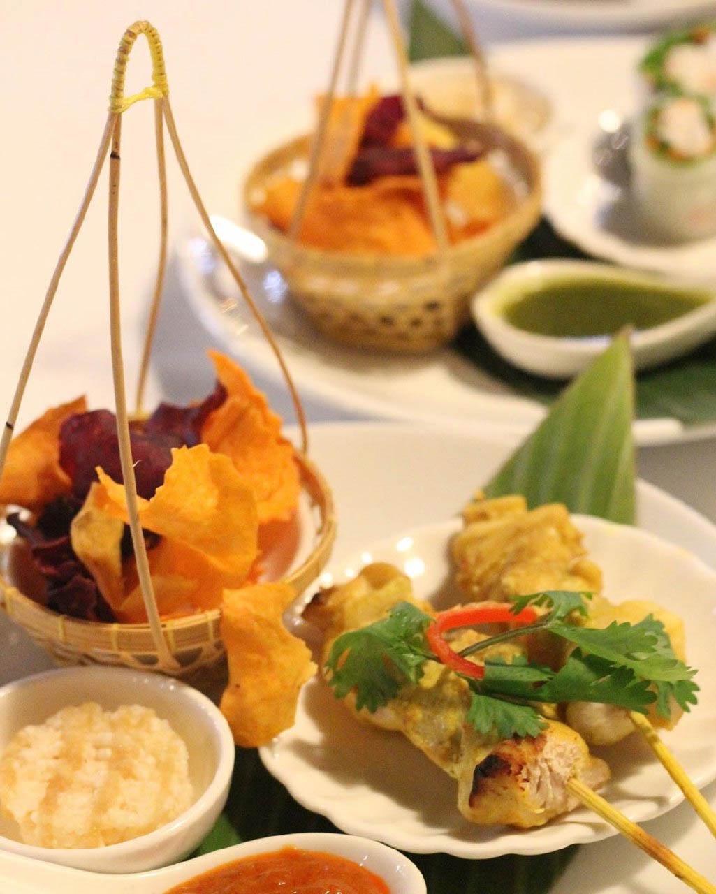 Dempsey Hil Restaurants - Jim Thompson Thai Restaurant food