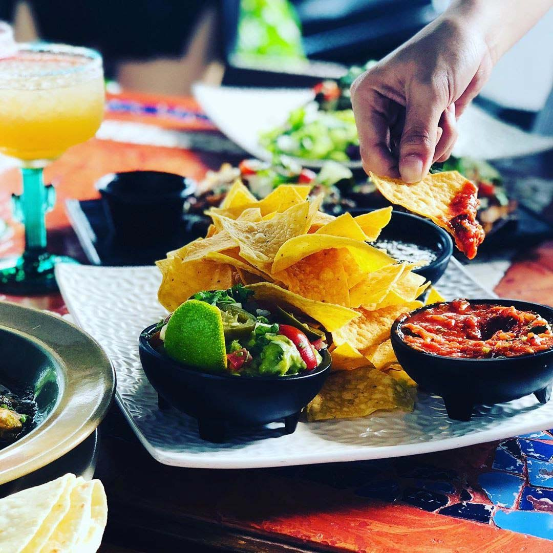 Dempsey Hil Restaurants - Margarita's food