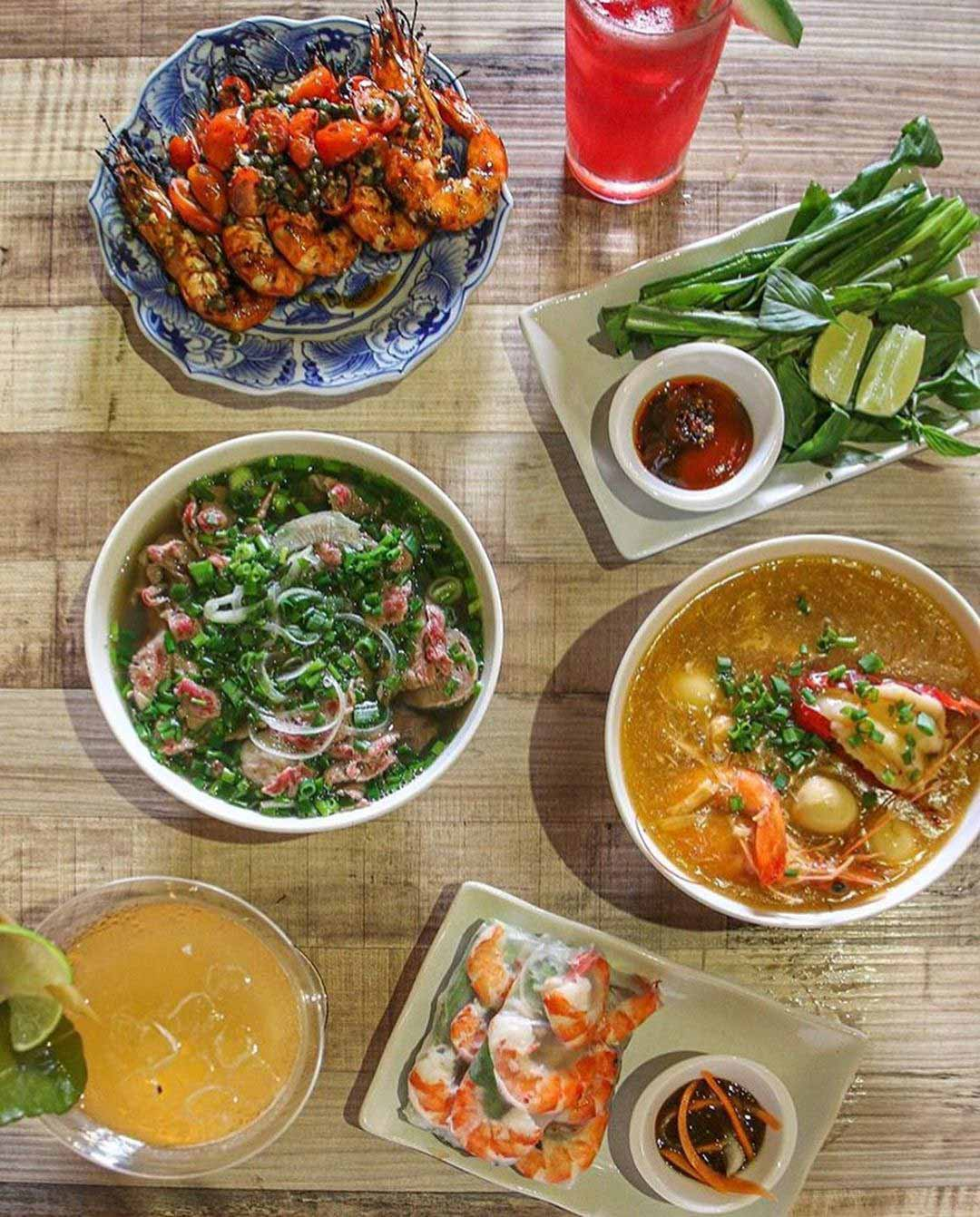 Dempsey Hil Restaurants - Red Sparrow food