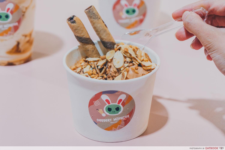 Dessert Monster - Thai Milk Tea Ice Cream