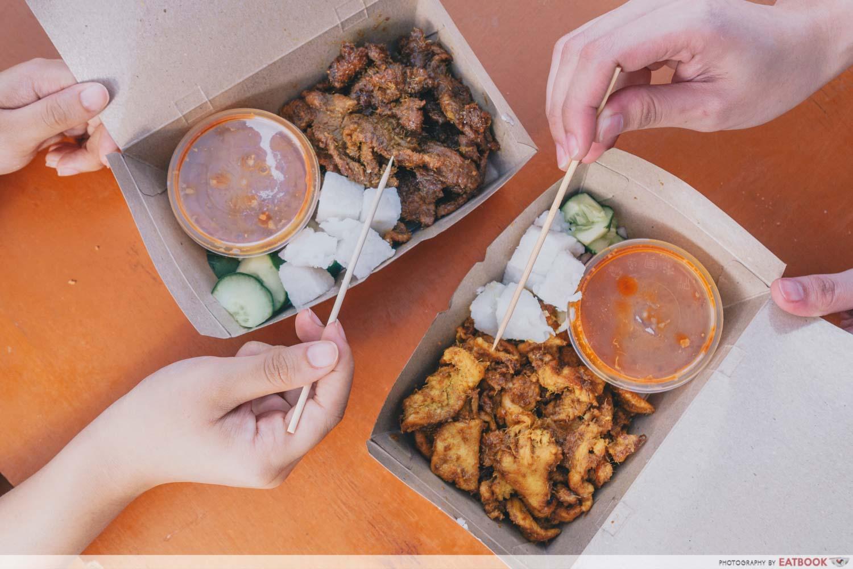Eatbox Singapore 2020 - Satay Ummi