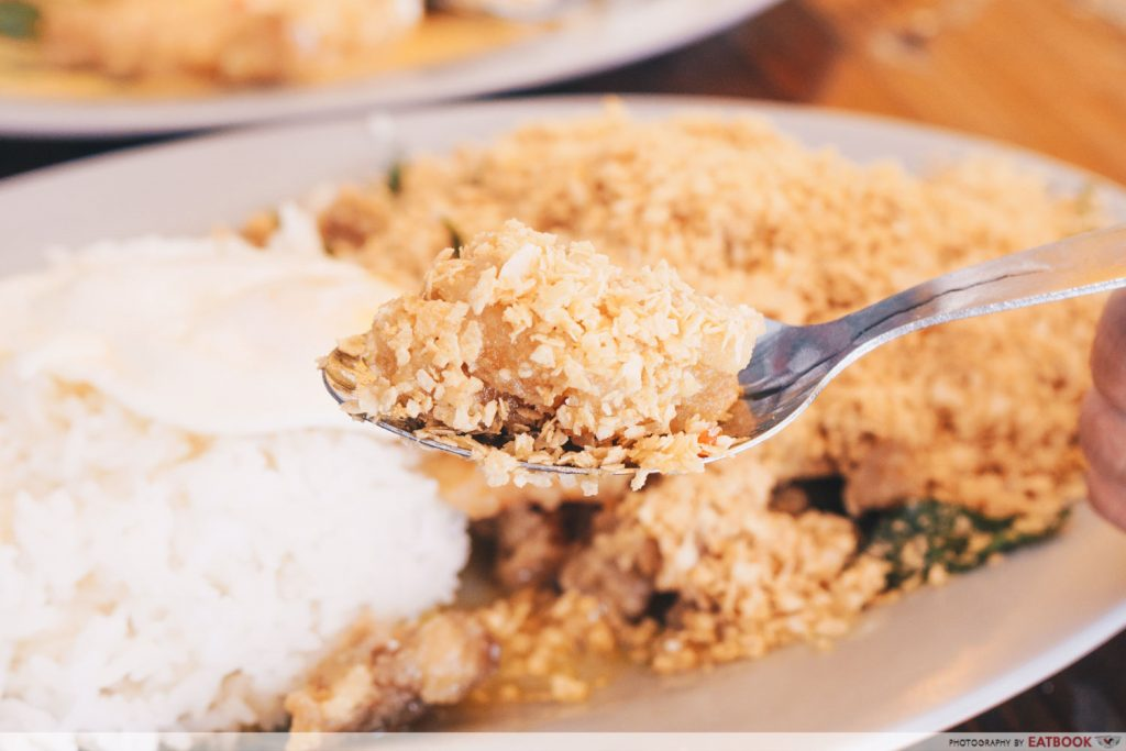 Jia Yuen Eating House Salted Egg Chicken