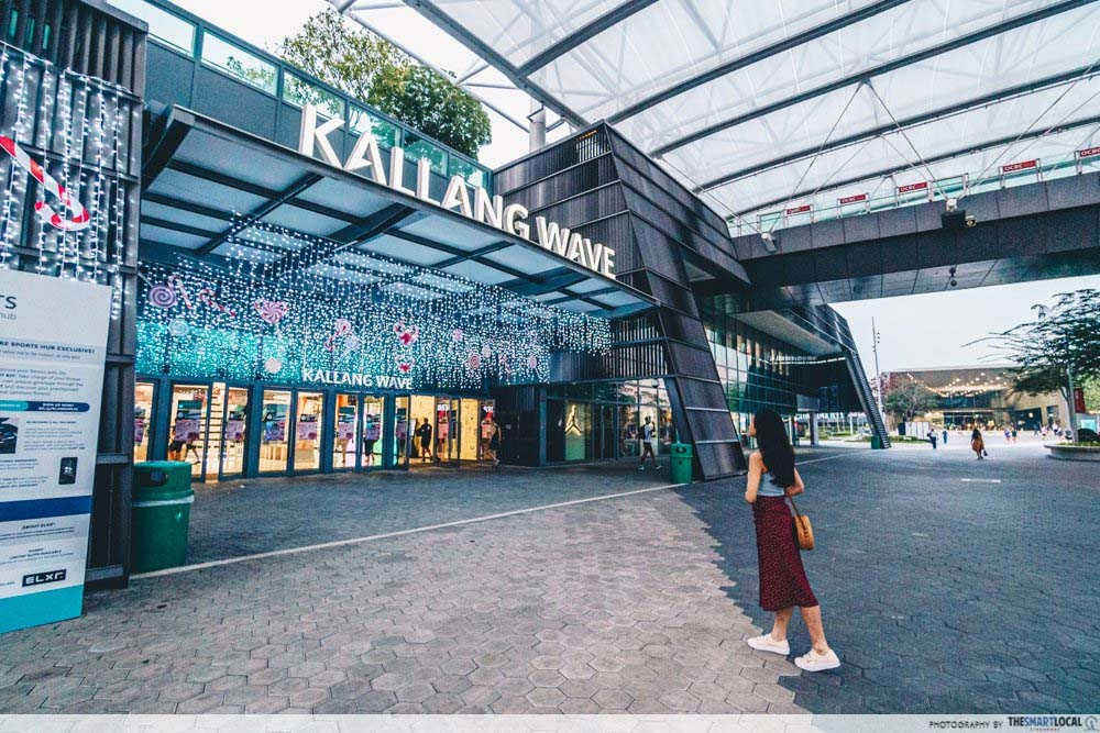 Kallang Wave Mall-Mall Entrance