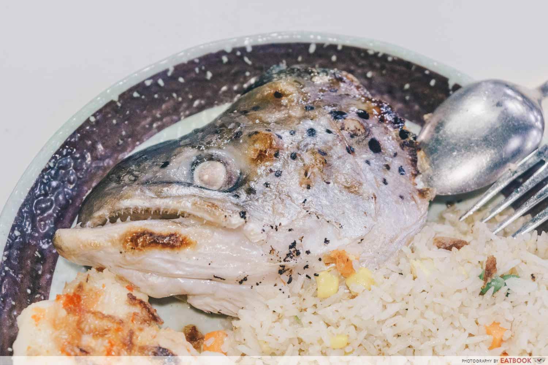 Kiseki Salmon head