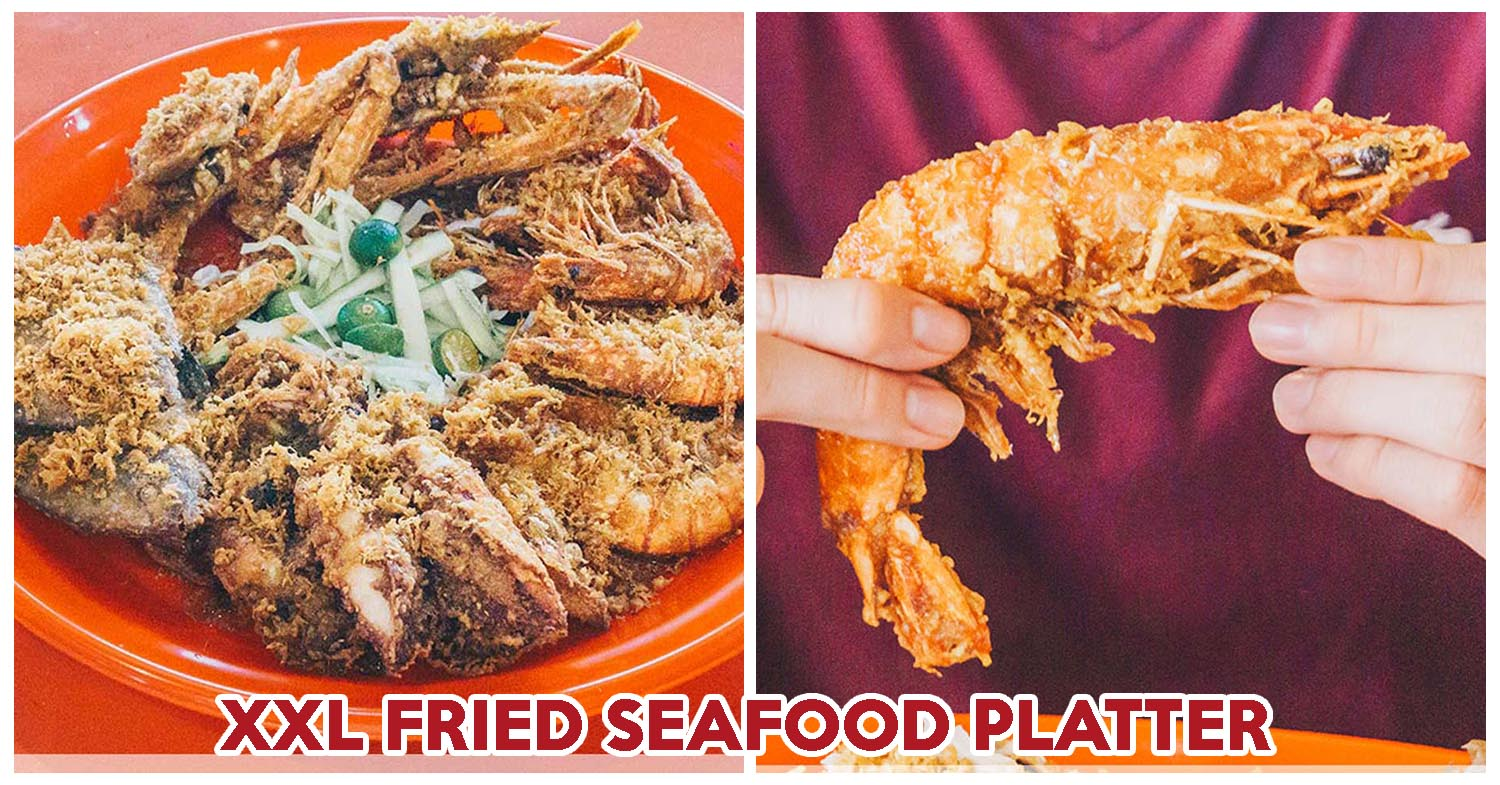 Project Penyek Review Xxl Fried Seafood Platter At Abc Brickworks Food Centre Eatbook Sg New Singapore Restaurant And Street Food Ideas Recommendations