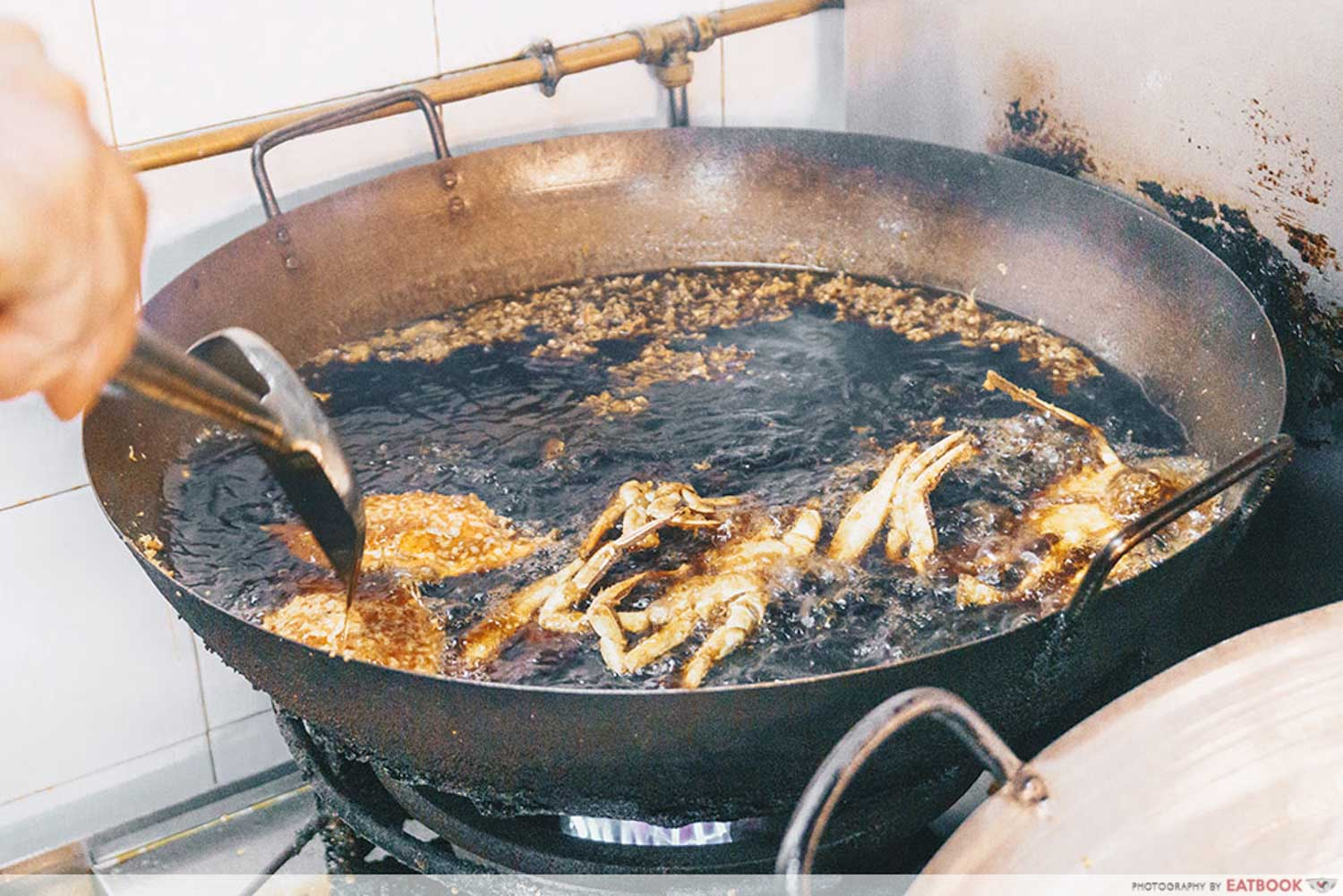Project Penyek-Frying of seafood