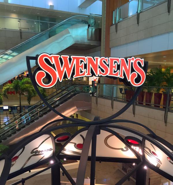 Swensen's Valentine's Sundae Promo - Sign