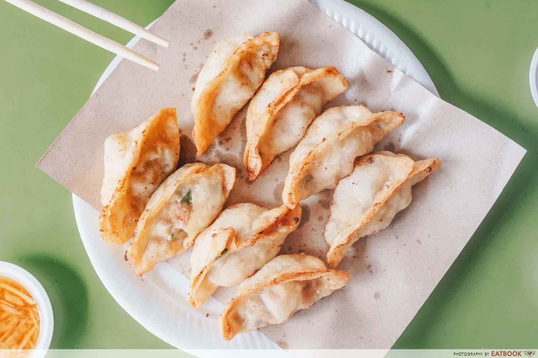 Tong Xin Ju Special Shanghai Tim Sum-Flatlay of dumplings