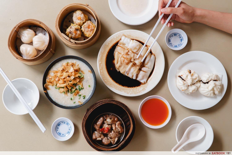 tampines hawker food - ho yun tim sum