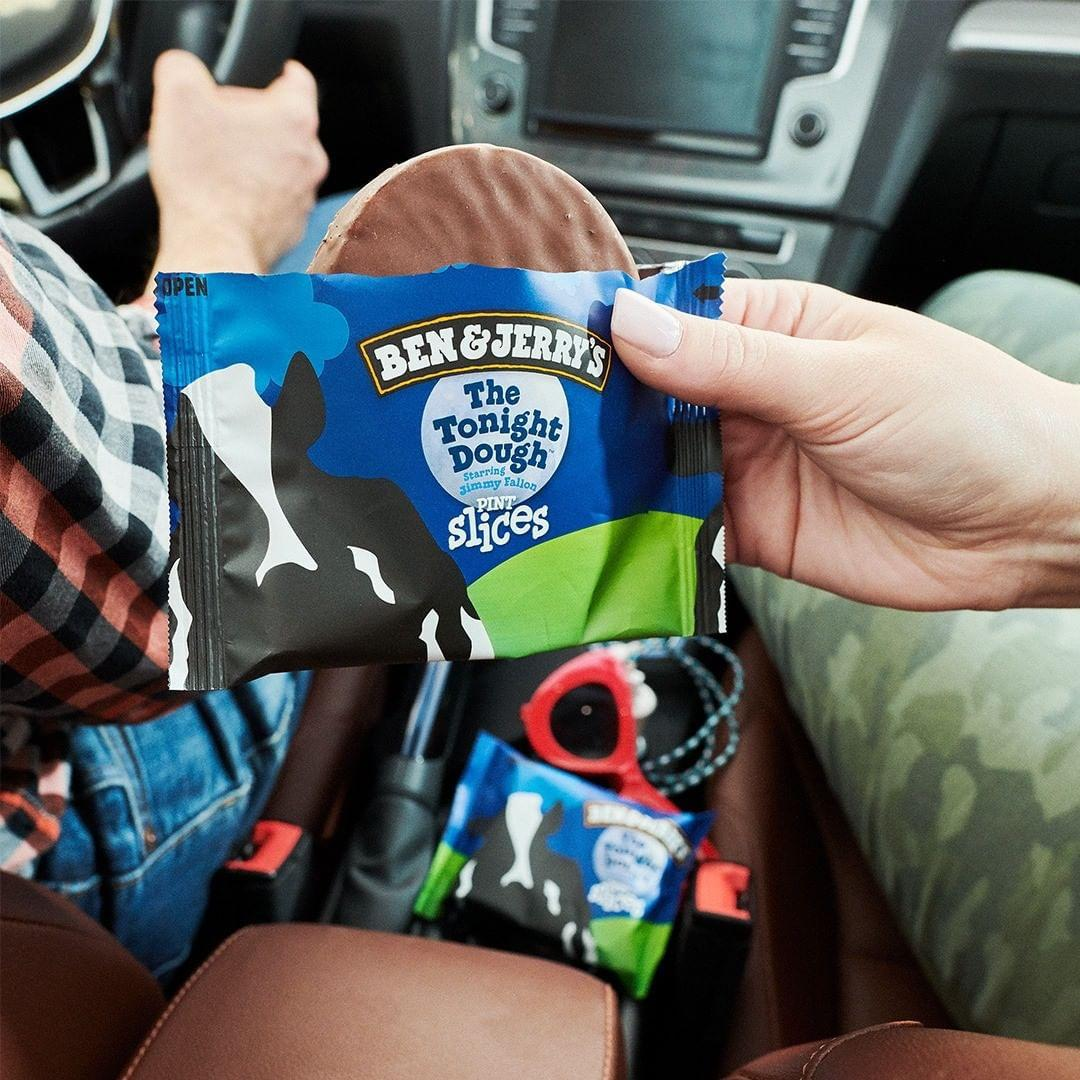 Ben and Jerrys Promotion March 2020 - Pint slice