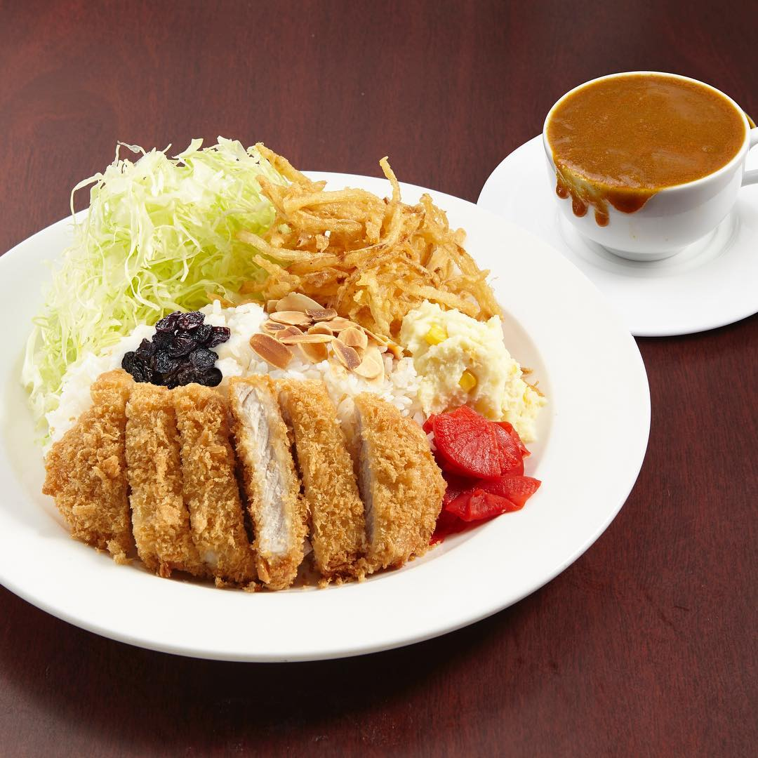 Pork cutlet curry is drink