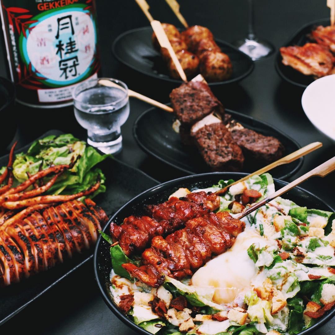 izakaya dishes at point five izakaya