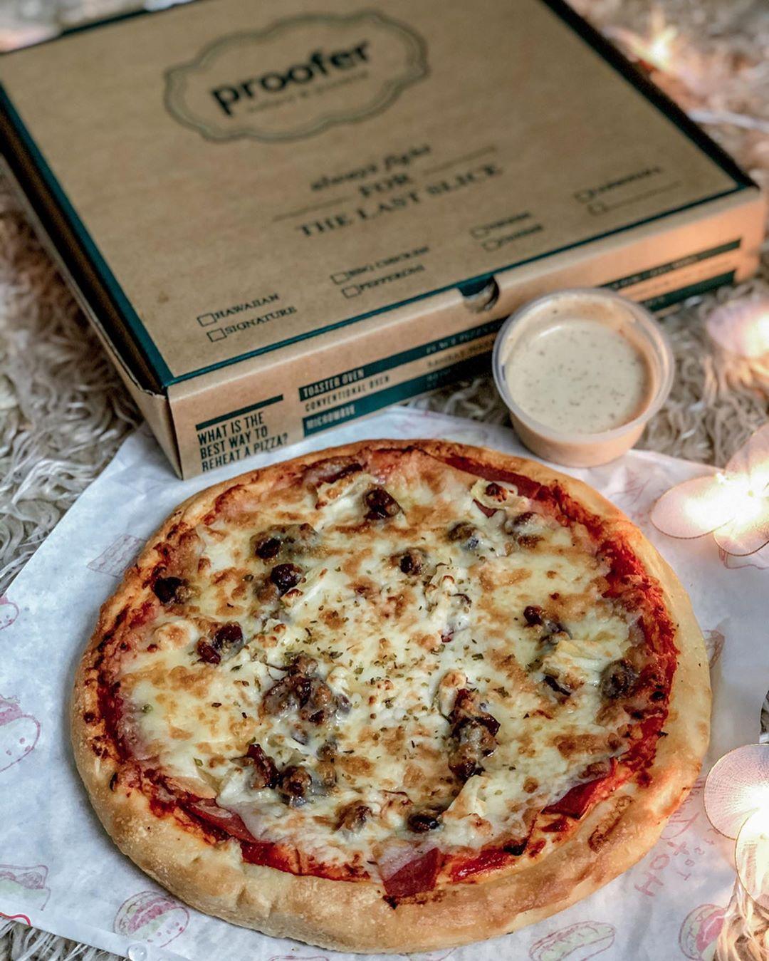 proofer pizza