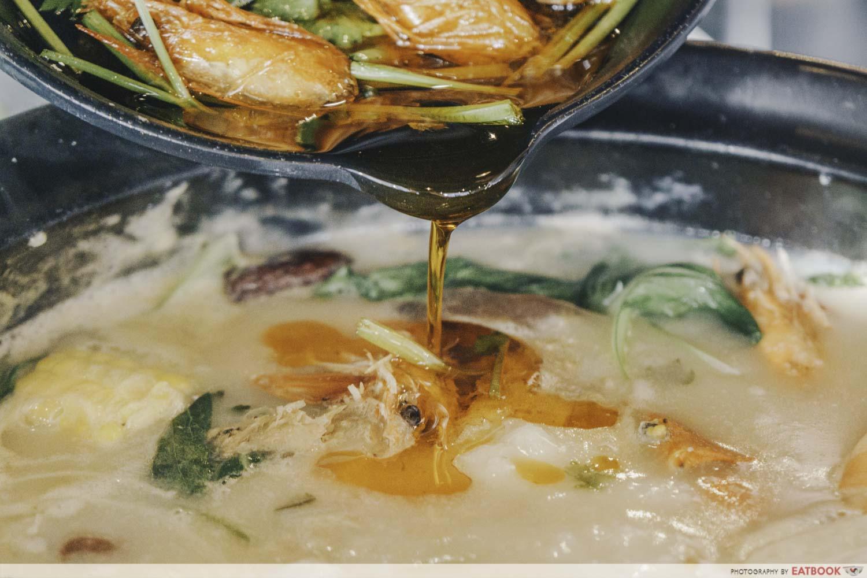 Congee Legend - Prawn oil porridge