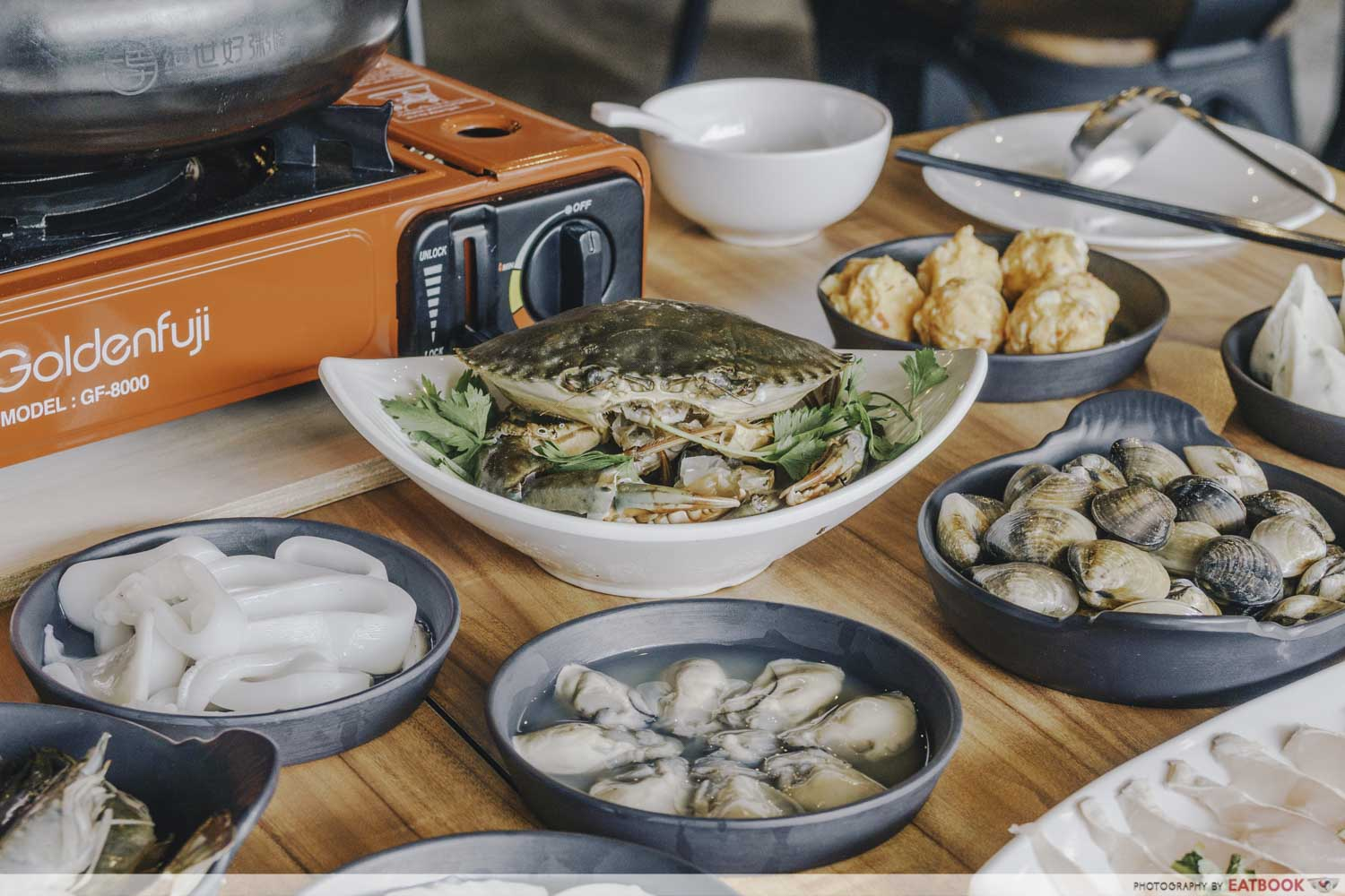 Congee Legend - Seafood choices