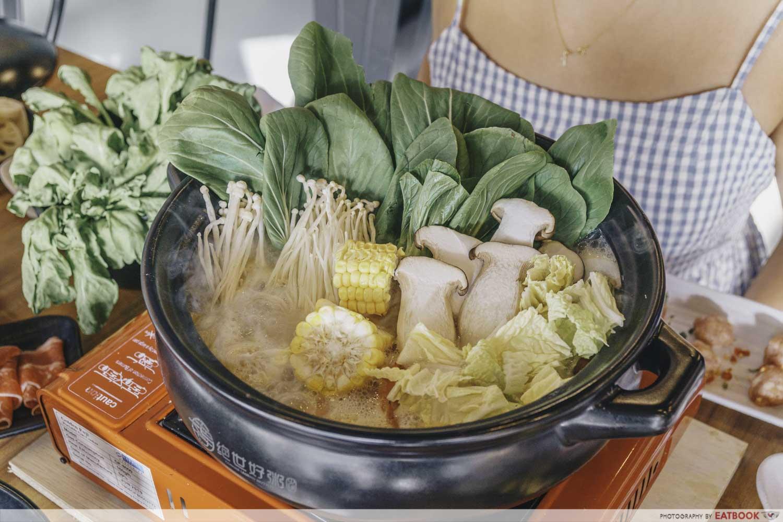 Congee Legend - Vegetable options