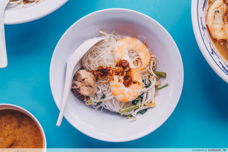 Da Dong Prawn Noodles - Pork rib prawn noodles