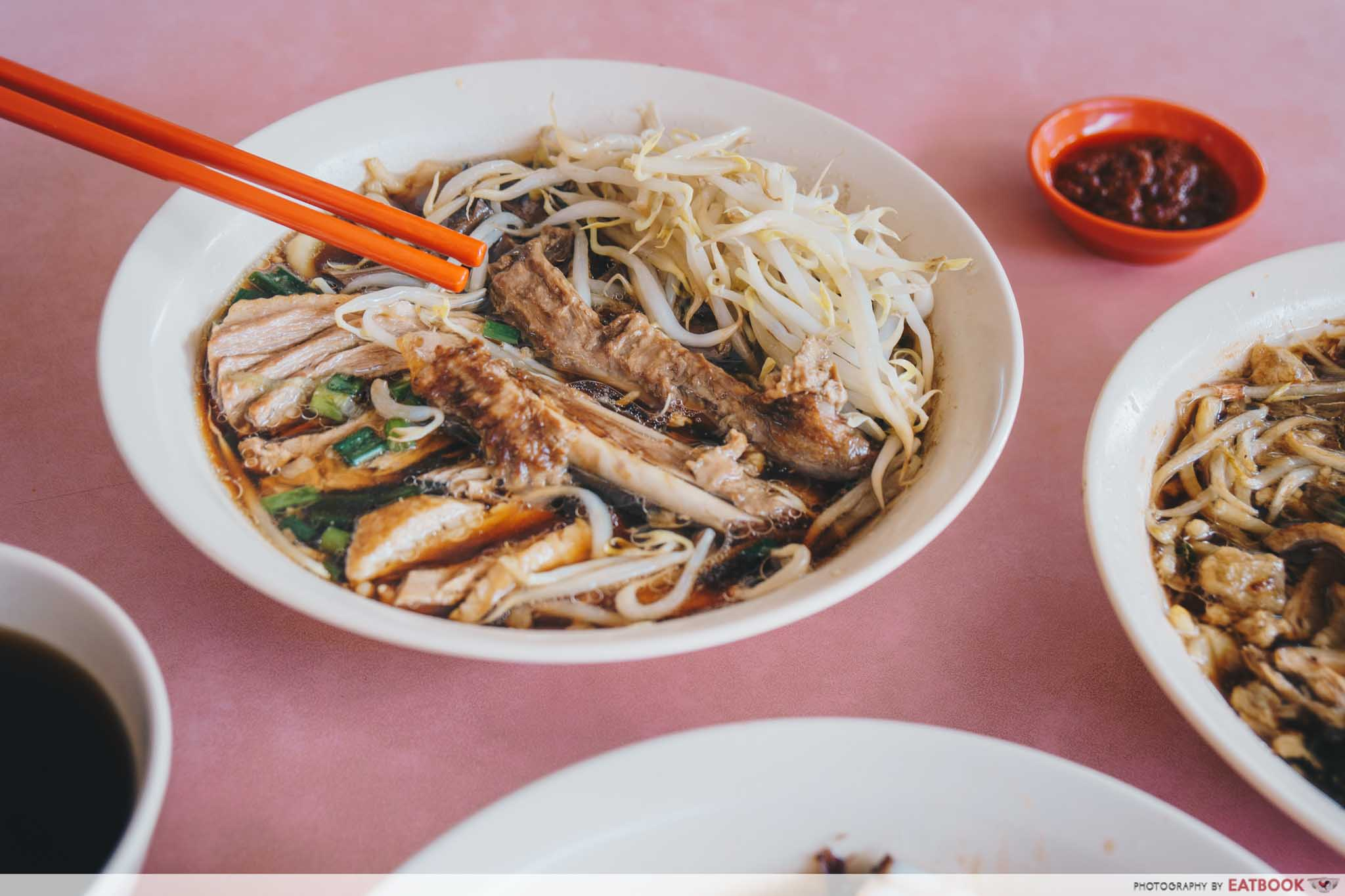 Heng Huat - Duck Noodles with soup, gizzard and duck wing