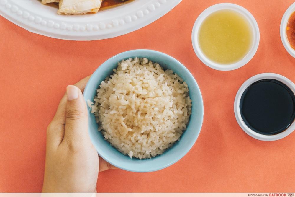 Heng Ji Chicken Rice - Rice intro