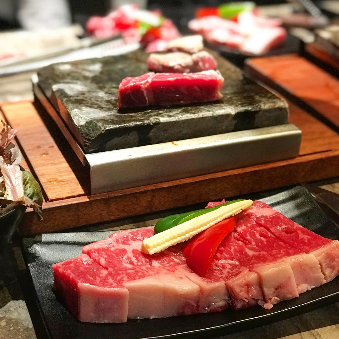 Hot Stones Steak & Seafood 1-for-1 Buffet - Premium Meat