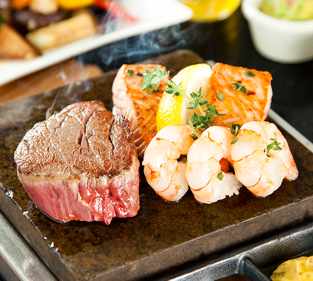 Hot Stones Steak & Seafood 1-for-1 Buffet - Steak and Seafood