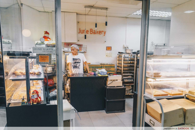 June Bakery - Owner in store