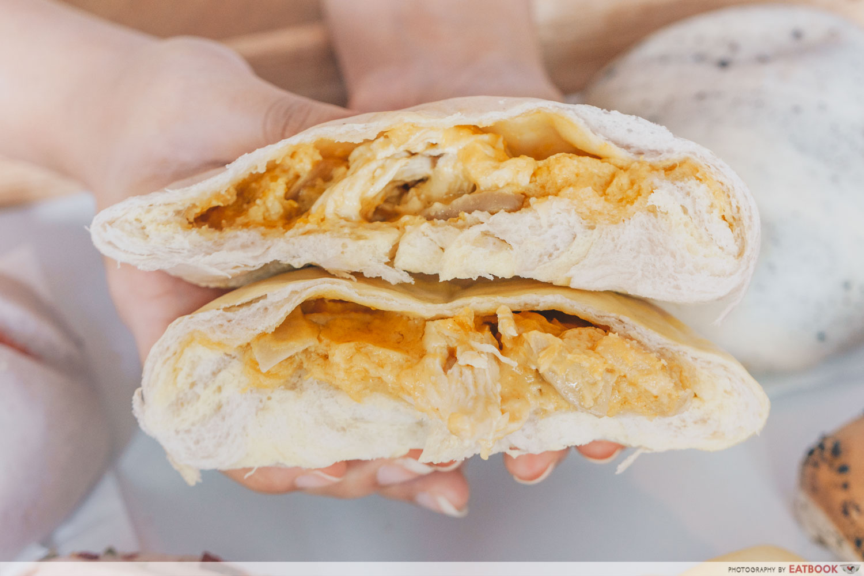Just Dough - Cheesy Chicken and Mushroom