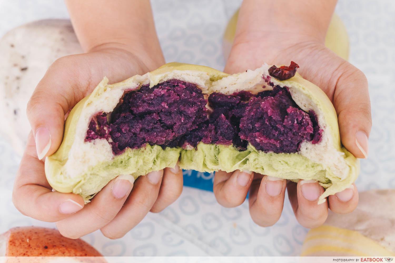Just Dough - Purple Sweet Potato Fillling