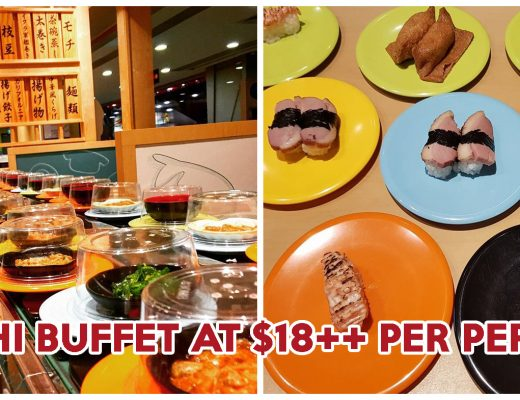 Kaiten Sushi Buffet - Feature Image