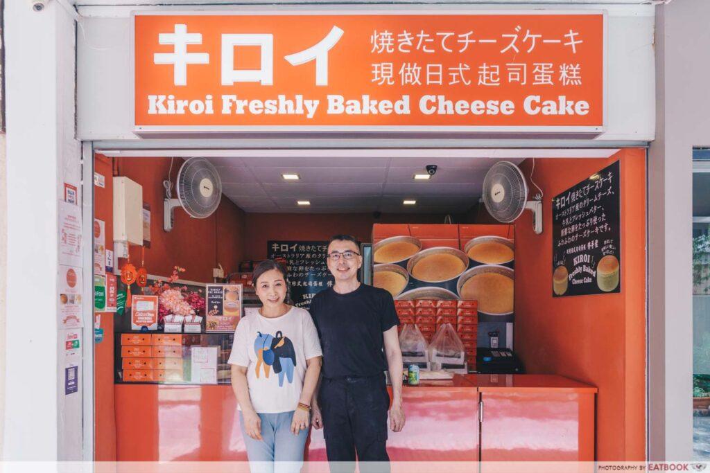 Kiroi Cheesecake owner