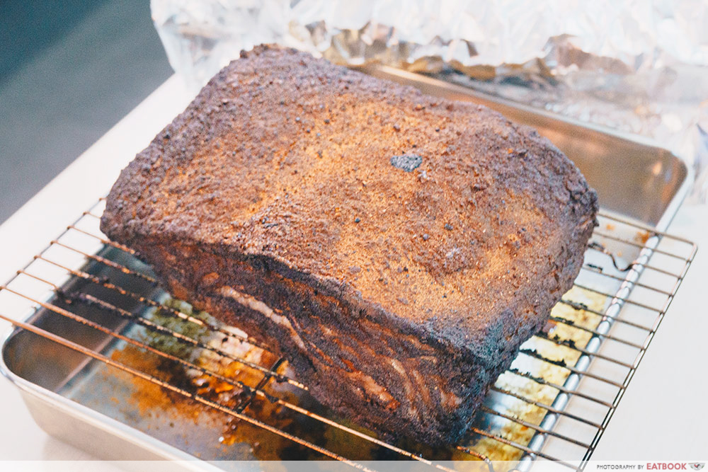 Mad Charcoal-Hunk of grilled meat left to rest