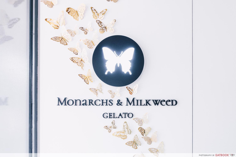 Monarchs & Milkweed Gelato - Storefront Logo