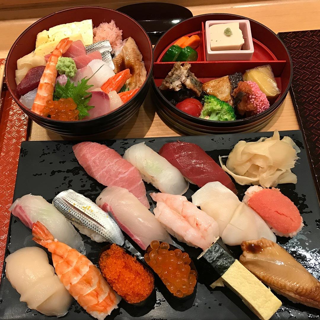 sushi shiraishi - sushi set