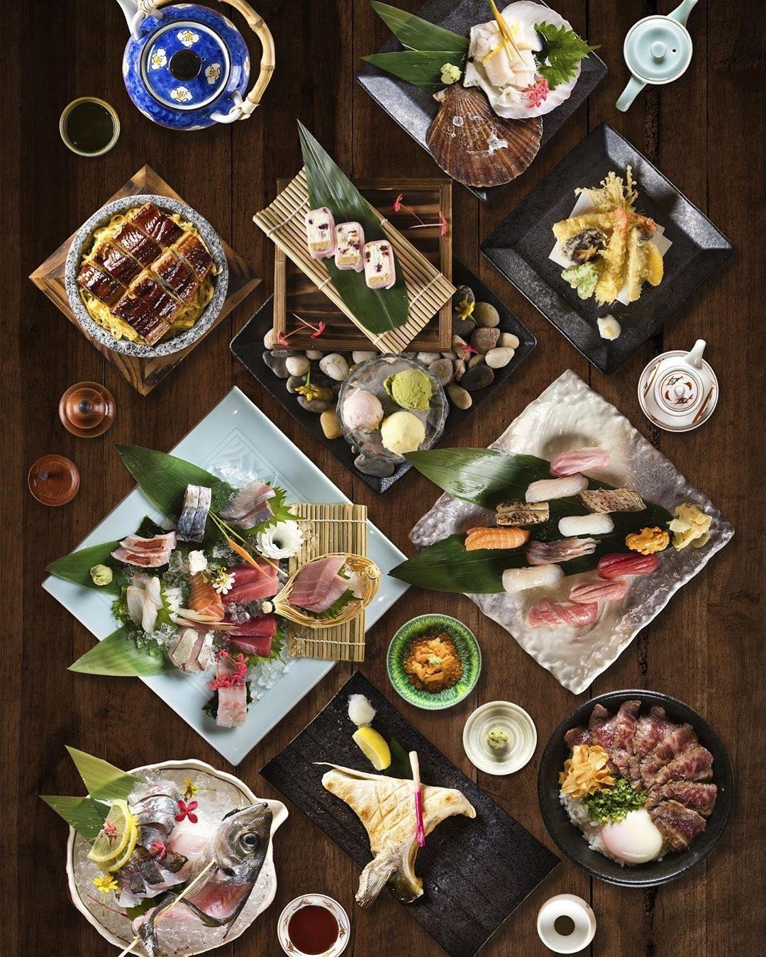 sushi jiro - flatlay
