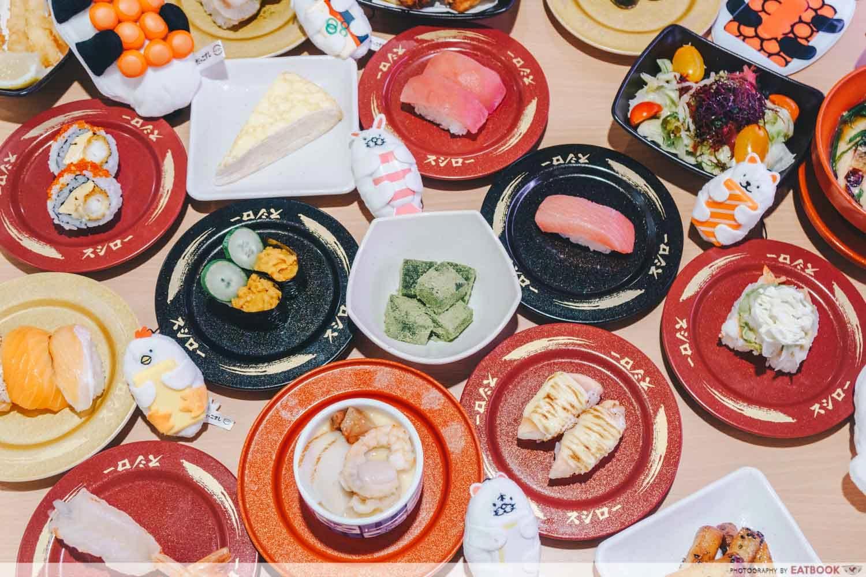 sushiro sushi plates