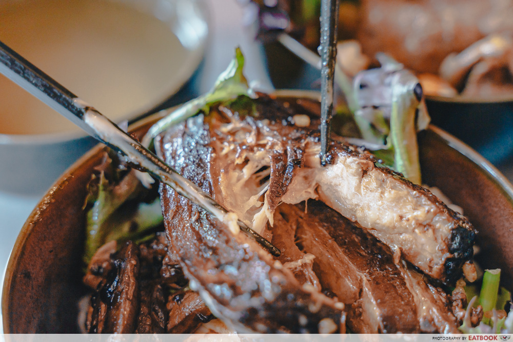 REVAMP Bar & Kitchen - Dong Po Pork Belly Interaction