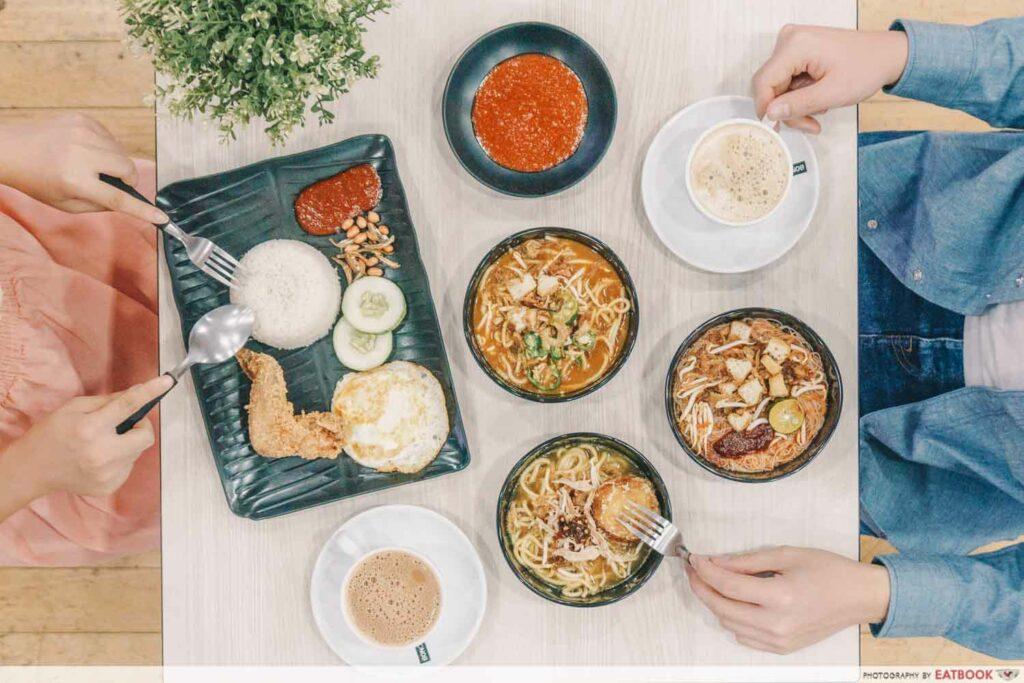 Tampines West Dining Spots Bola Café
