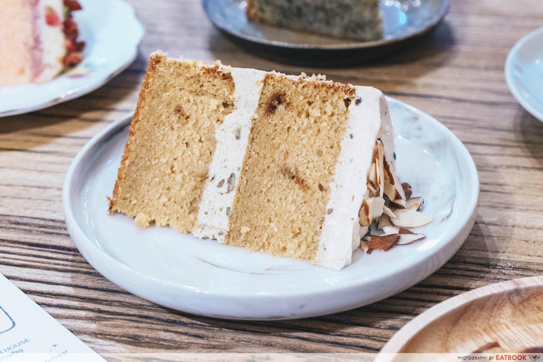 The Better Half - Gula Melaka Avocado cake slice