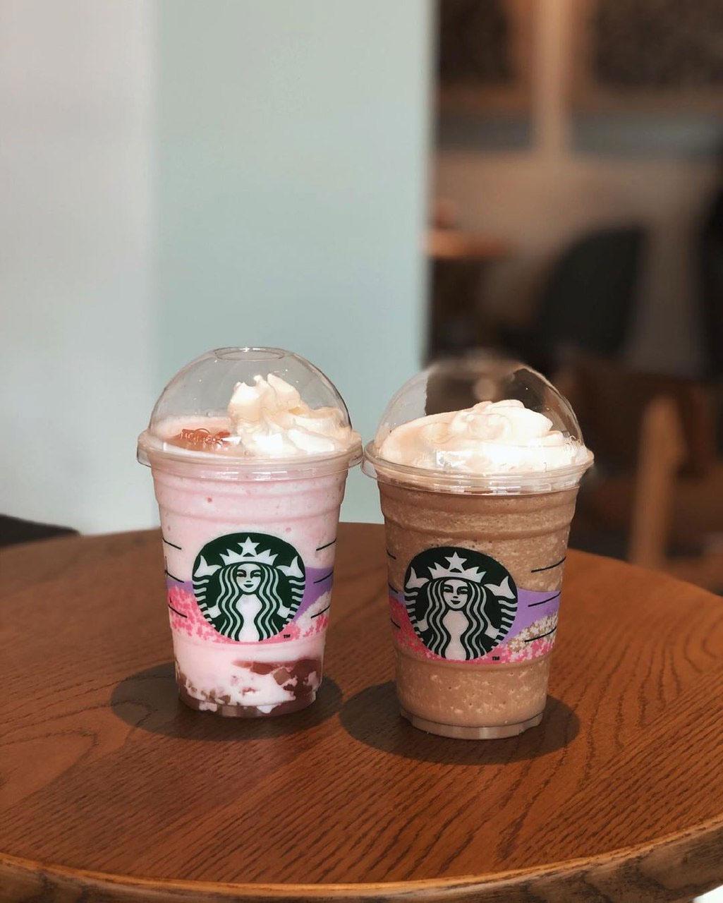 Starbucks peach drinks