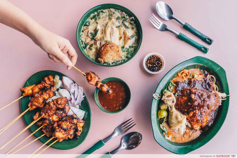 Rahim Muslim Food - Flatlay