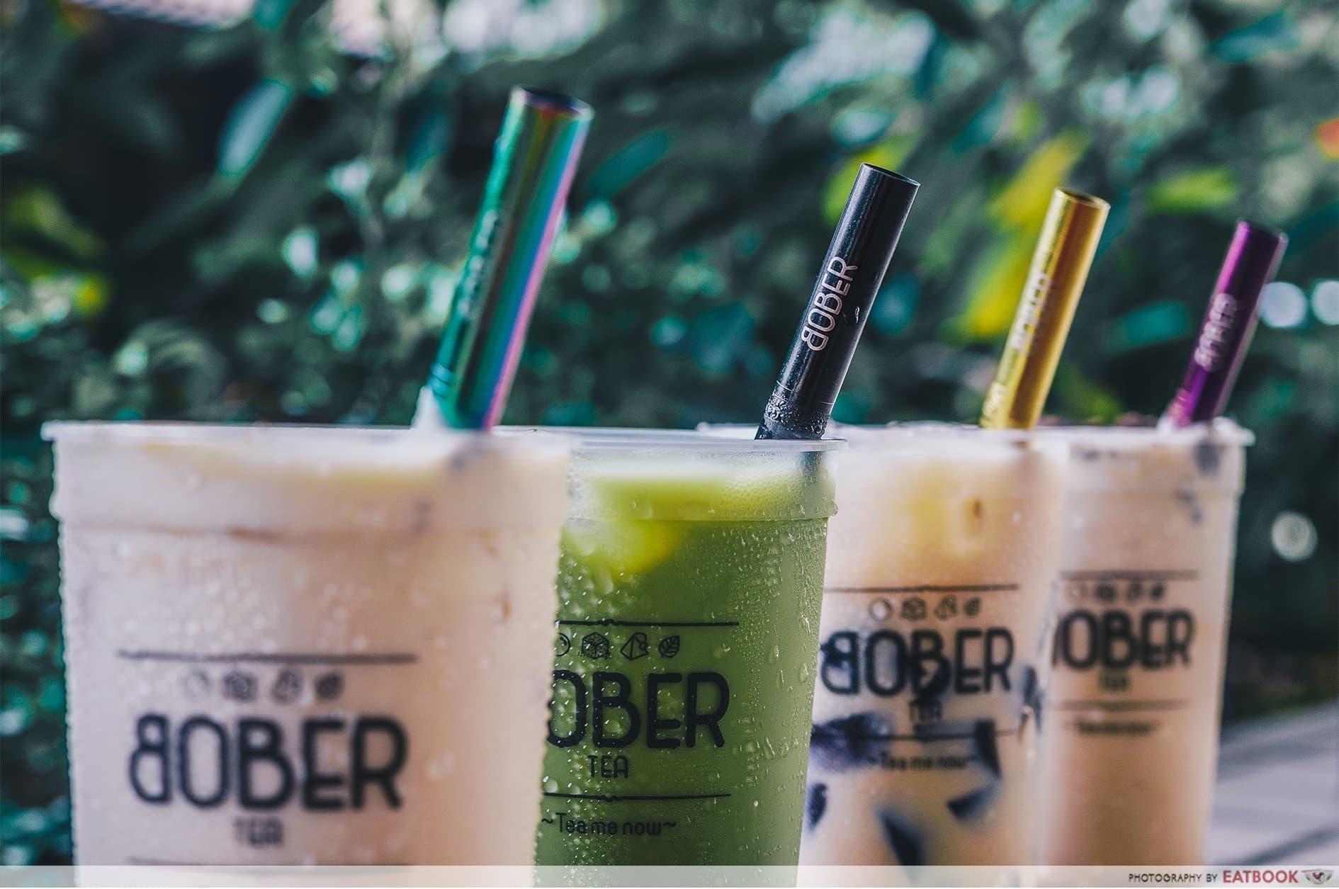 Bober Tea Delivery - Bober Tea row