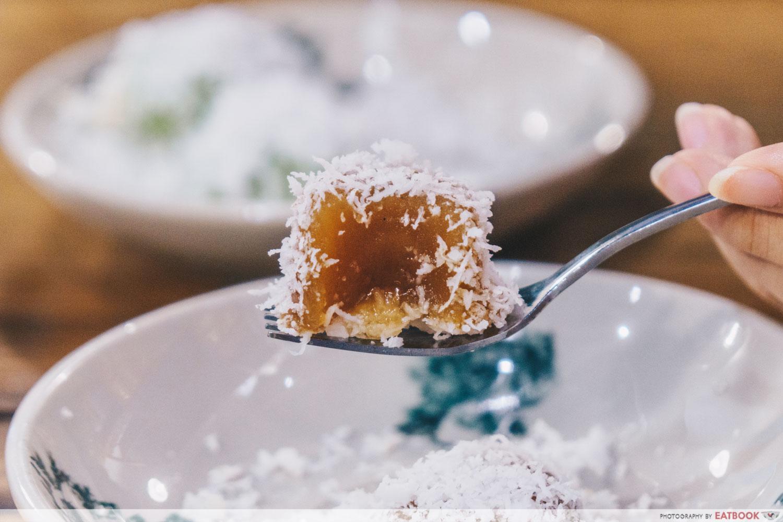 Chuan Ji Bakery Hainanese Delicacies - Kueh Ko Swee Close up
