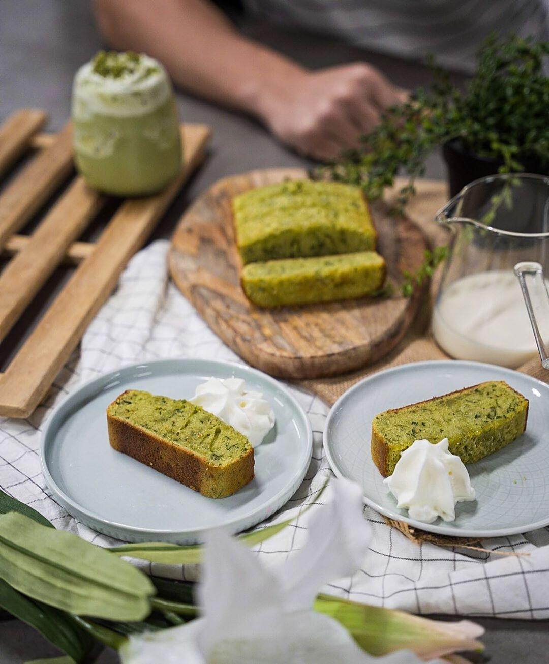Coriander Butter Cake - Easy Baking Recipe