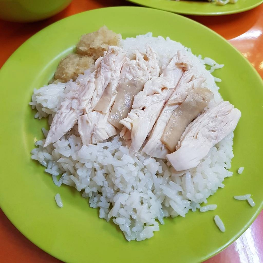 Famous hawker delivery Hainanese Delicacies