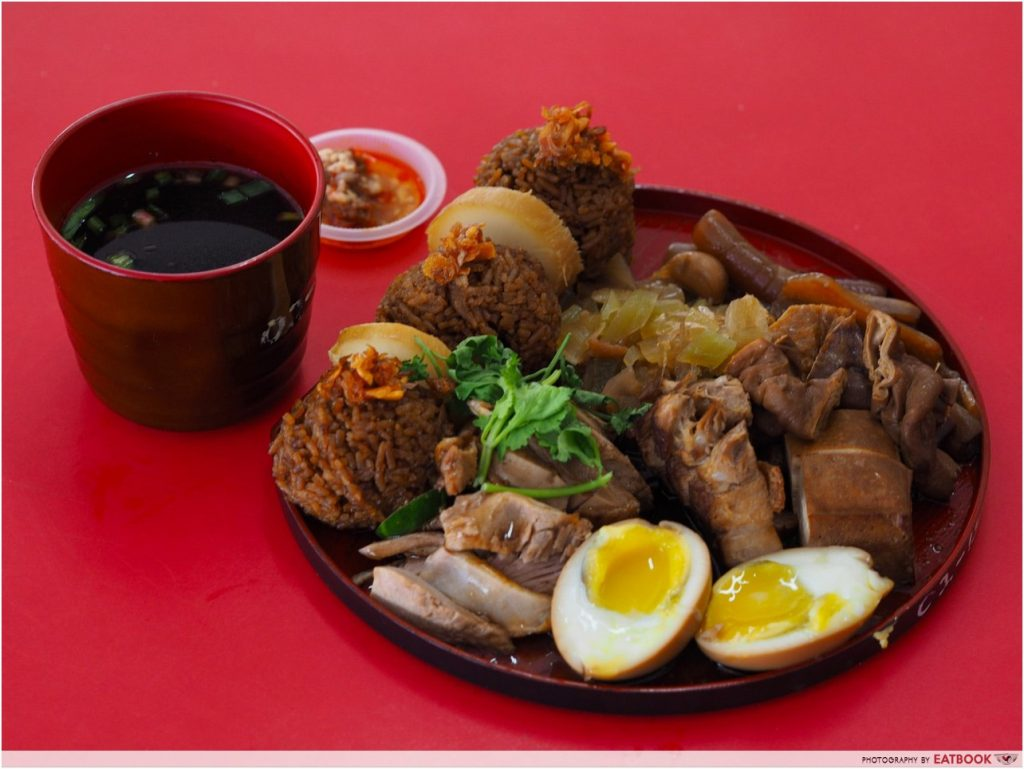 Famous hawker delivery Jin Ji Braised Duck