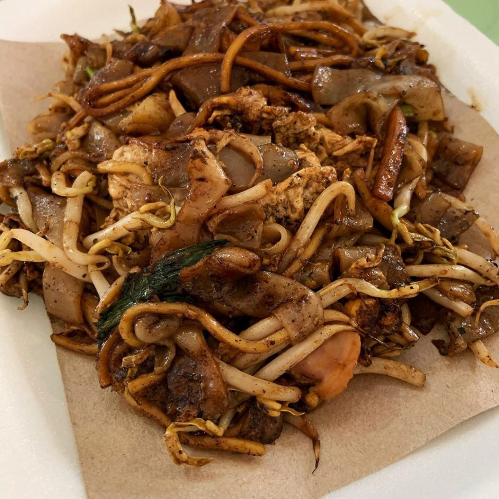 Famous hawker delivery Lau Fu Zhi Char Kway Teow