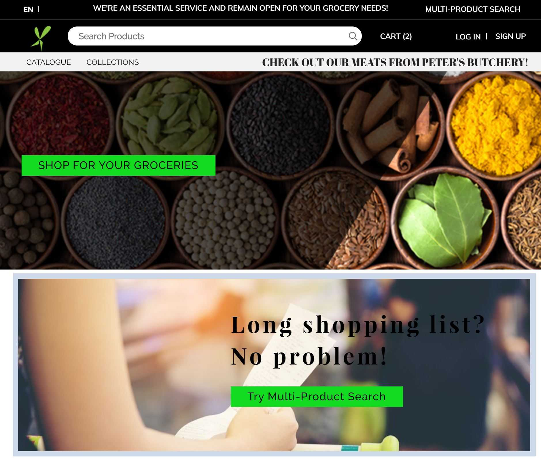 FoodXervice Site