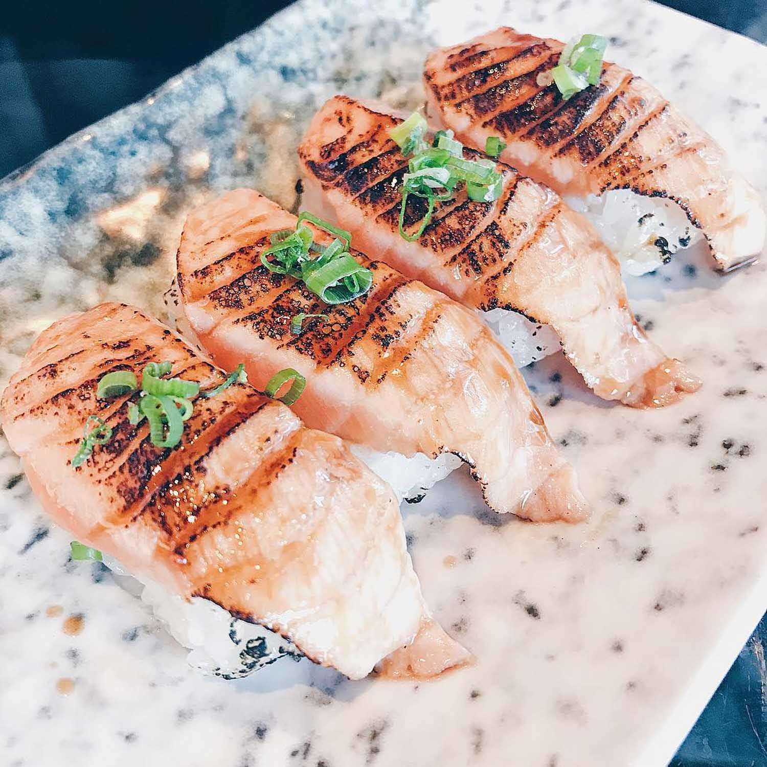 Halal Food Delivery Places - Hei sushi