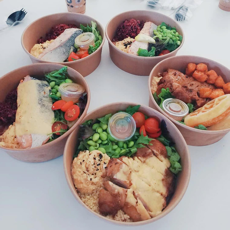 Halal Food Delivery Places - Lean bento