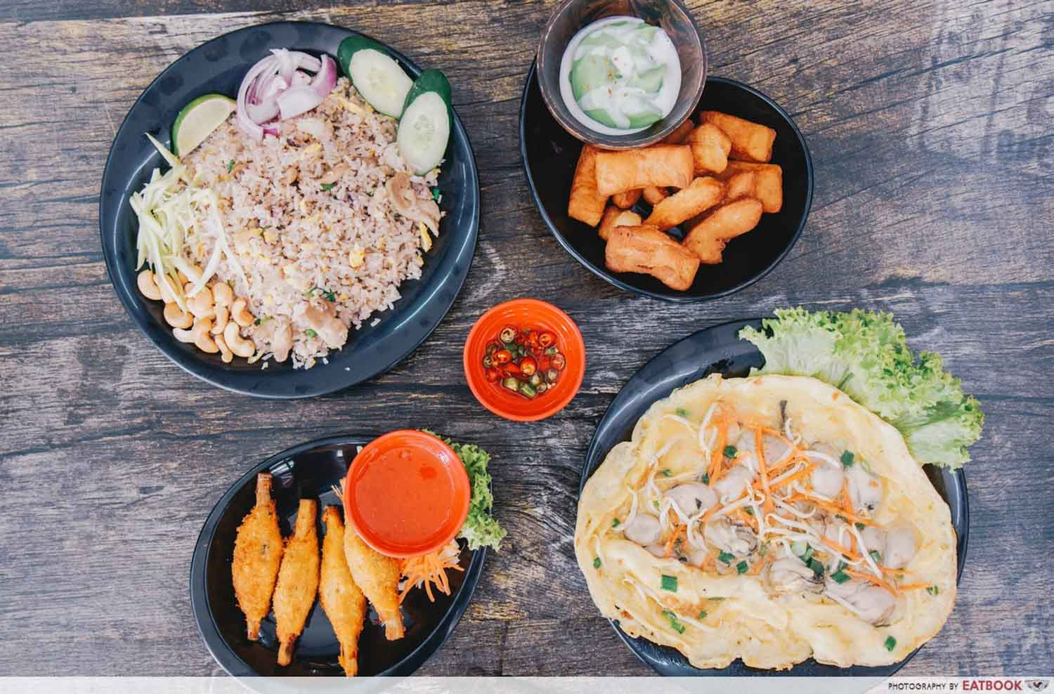 Halal Food Delivery Places - Time for thai